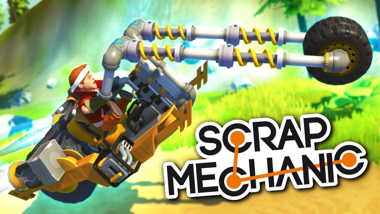 Scrap Mechanic V0 1 32 Crack + Steam Multiplayer – PolewKa Crack